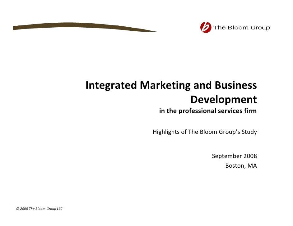IntegratedMarketingandBusiness                                                  Development                          ...
