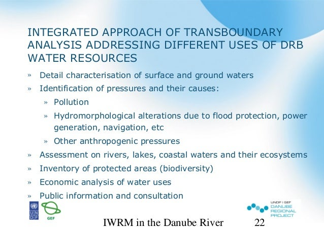 principles of integrated water resources managment Considering these principles means answering the following integrated water resources management: basic and develop integrated management approaches.