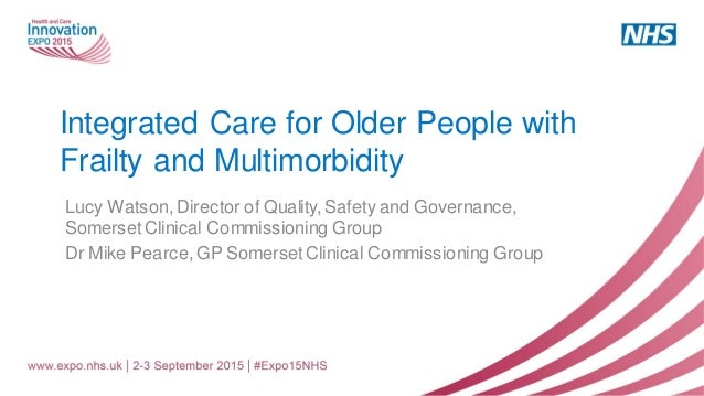 Integrated care for older people with frailty and ...