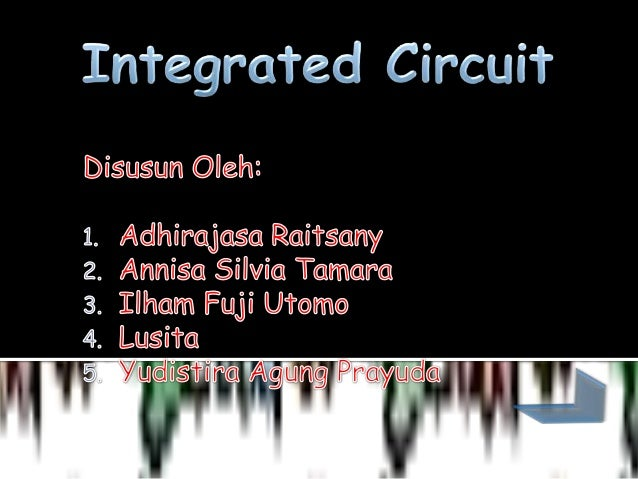 Integrated circuit final