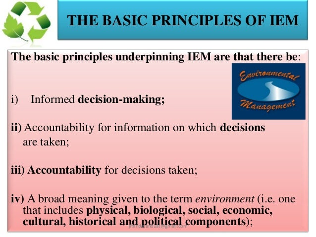 fundamental principles of environmental We explain the six aspects of the montessori prepared environment, and why it is so important to the success a child experiences with montessori education.
