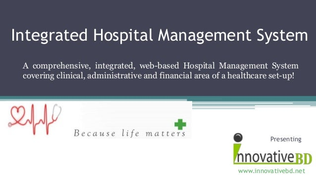 Integrated Hospital Management System A comprehensive, integrated, web-based Hospital Management System covering clinical,...