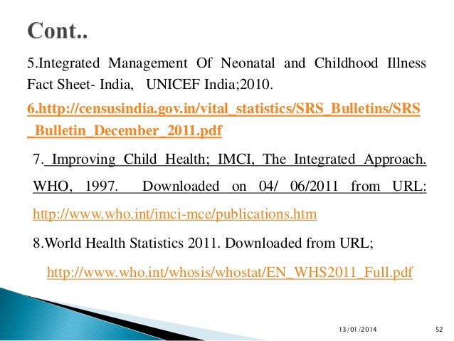Integrated Management Of Childhood Illness Pdf