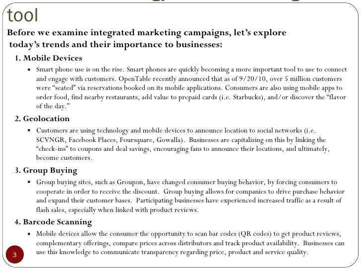 The Power of Integrated Marketing Campaigns Slide 3