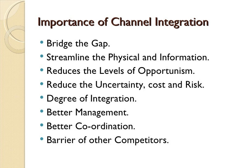 the importance of marketing channels marketing essay Question 1 (1 point) what value do marketing channels bring to the customer question 1 options: marketing channels ensure.