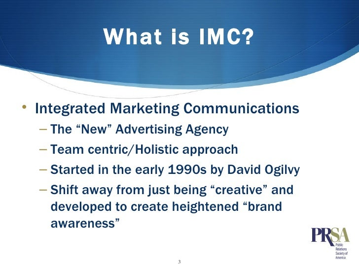 Integrated Marketing Comm Presentation (1132009)