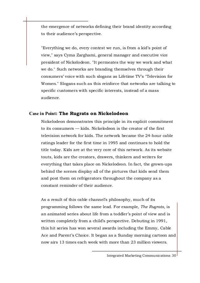 Marketing and communications essay