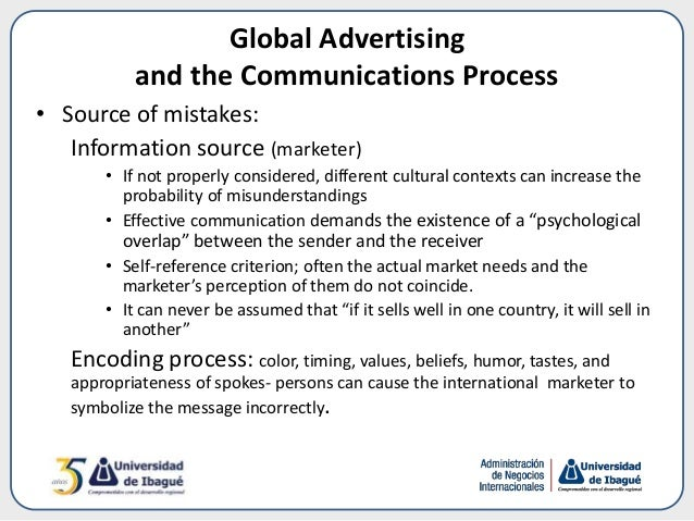 global marketing communication decisions The international marketing environmental factors that affect global companies in their international marketing decisions  standardised global marketing.