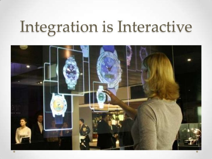 Integration is Interactive