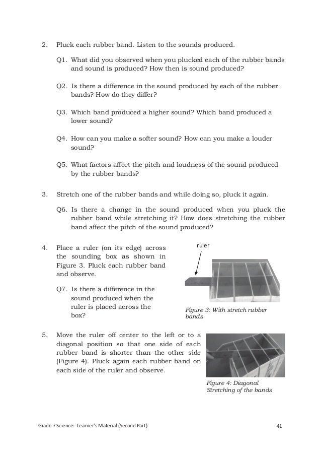 Integrated Science Module For Grade 7 Quarter 3 4