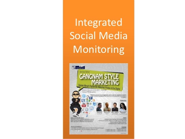 IntegratedSocial Media Monitoring