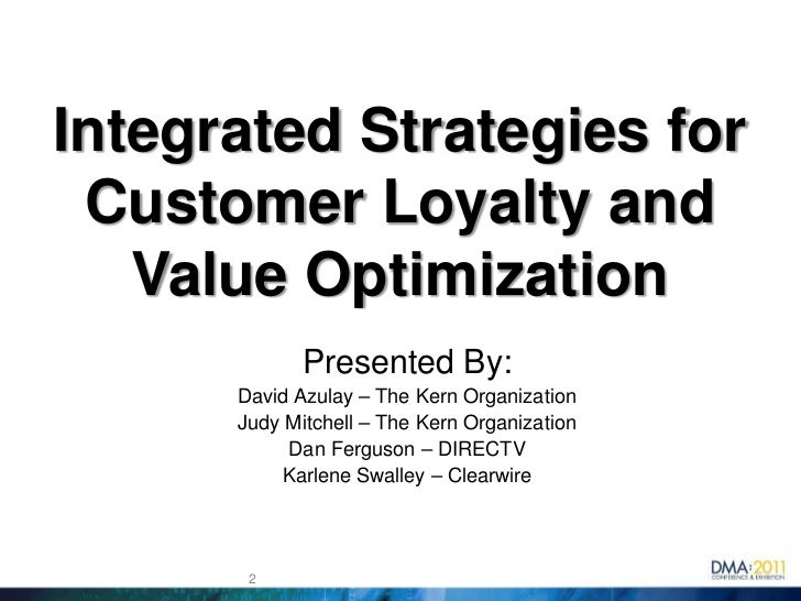 Integrated Strategies For Customer Loyalty And Value Optimization