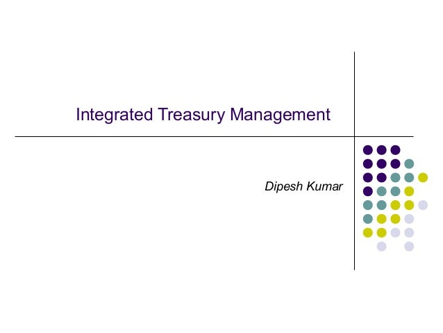 Technology Management Image: Integrated Treasury Management In Banks