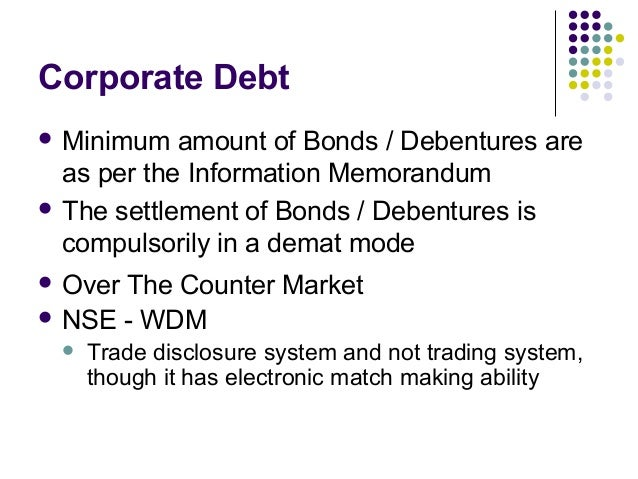 Wdm trading system