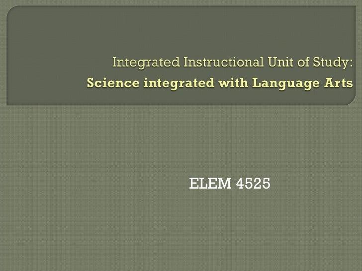ELEM 4525