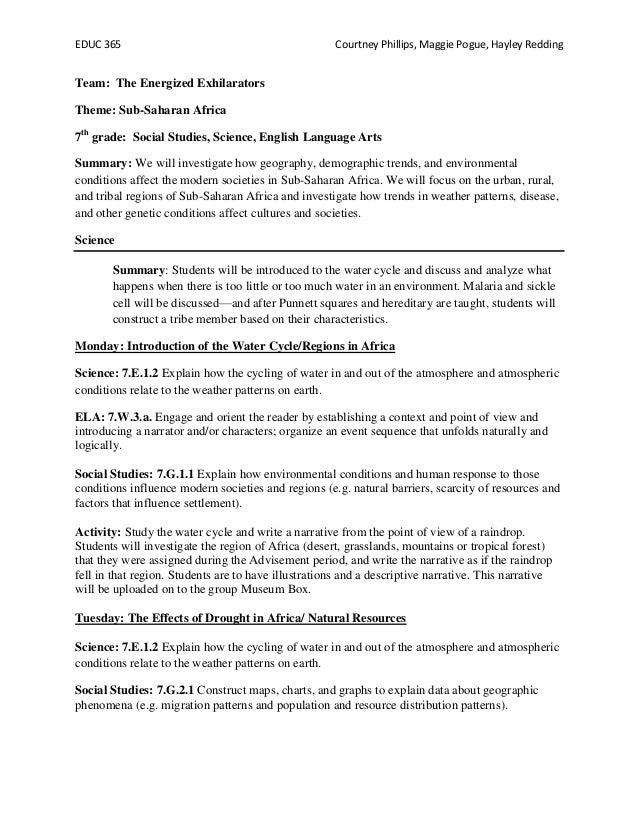 EDUC 365                                              Courtney Phillips, Maggie Pogue, Hayley ReddingTeam: The Energized E...