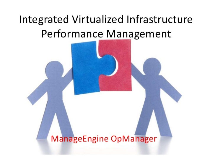 Integrated Virtualized Infrastructure     Performance Management      ManageEngine OpManager