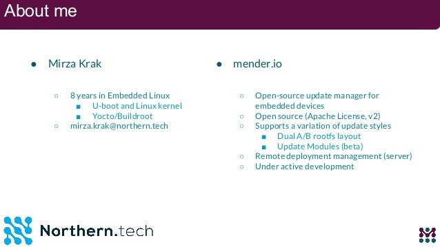 Integrate IoT cloud analytics and over the-air (ota) updates with google and mender.io Slide 3