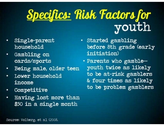 Youth gambling prevention programs wampanoag casino