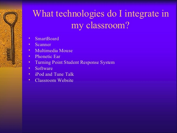 Integrating Technology in a Special Education Classroom