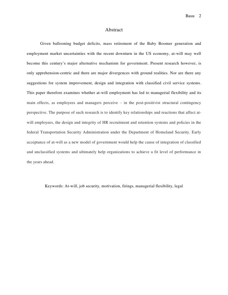 Ethical aspects of research paper protocol