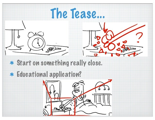 Using storyboards for standardized tests...