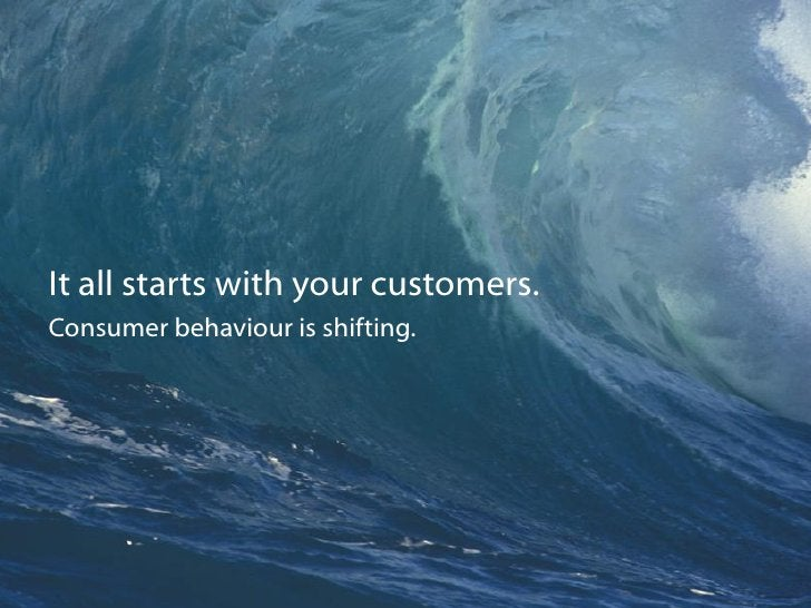 Be where your customers are. Their media habits are changing. So must your strategy.*                              * Niels...