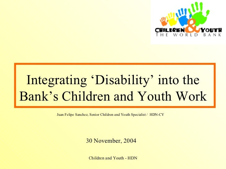 Integrating Disability Sanchez[1]