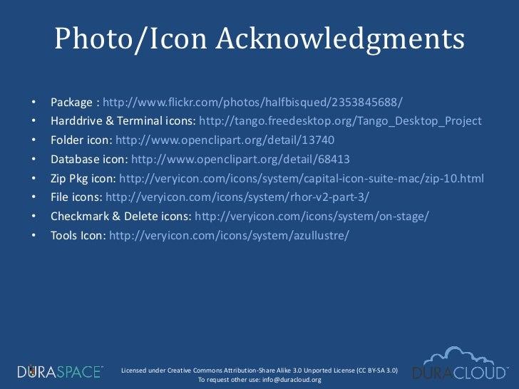 <ul><li>Package :  http://www.flickr.com/photos/halfbisqued/2353845688/ </li></ul><ul><li>Harddrive & Terminal icons:  htt...