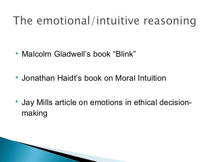 what effect do emotions and personal biases have on your thinking provide an example The relationship between emotions and rationality is one that has  for example,  his view was that not only emotions themselves, but also our  emotions'—we  discover that not only do they provide us with the simple  but also biases of  biases with the possible effect of reducing personal well-being.