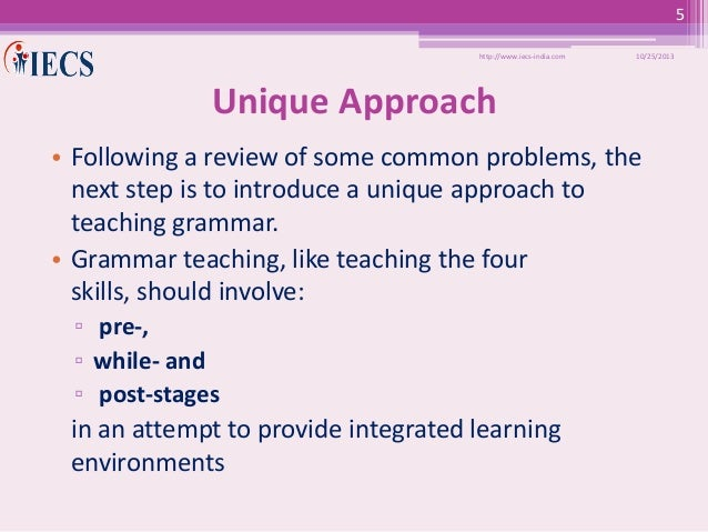 integrating four skills in clt context Principles that govern language teaching based on all four skills—listening, speaking, reading and  they will also focus on integrating grammar instruction with .