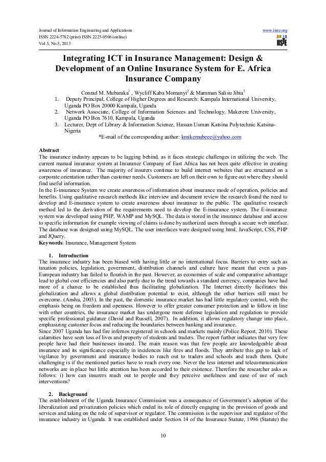 Journal of Information Engineering and Applications www.iiste.orgISSN 2224-5782 (print) ISSN 2225-0506 (online)Vol.3, No.5...