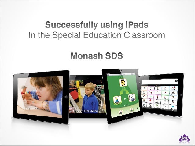 integrating ipad in a special education class a case study Integrating iPads in Middle School Science Instruction: A Case Study