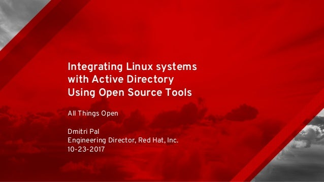 Integrating Linux Systems with Active Directory Using Open Source Tools Slide 1
