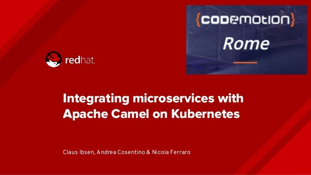 Integrating microservices with apache camel on kubernetes