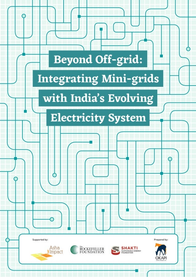 Integrating mini grids with india\'s evolving electricity system may 2…