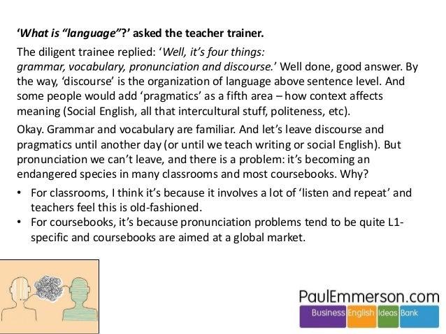 12 activities to integrate pronunciation Slide 2