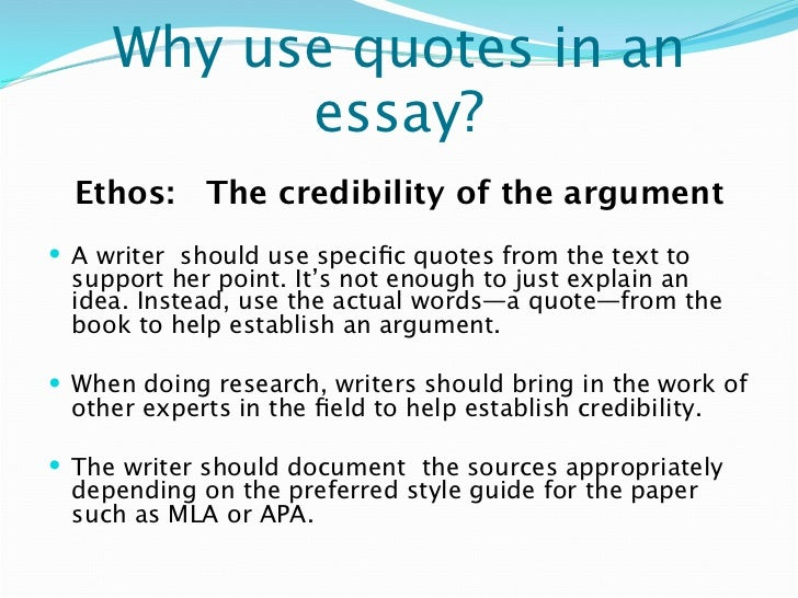 establish ethos essay Rhetorical concepts many people have heard of the rhetorical concepts of logos, ethos, and pathos even if they do not necessarily know what they fully mean.