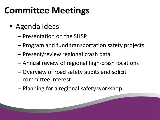Integrating Safety in the Rural Planning Process