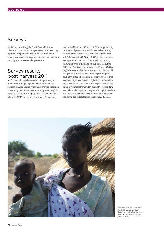 malnutrition in darfur essay An assessment of the people living in three communities in south darfur white papers lab instruments the prevalence of acute malnutrition was.