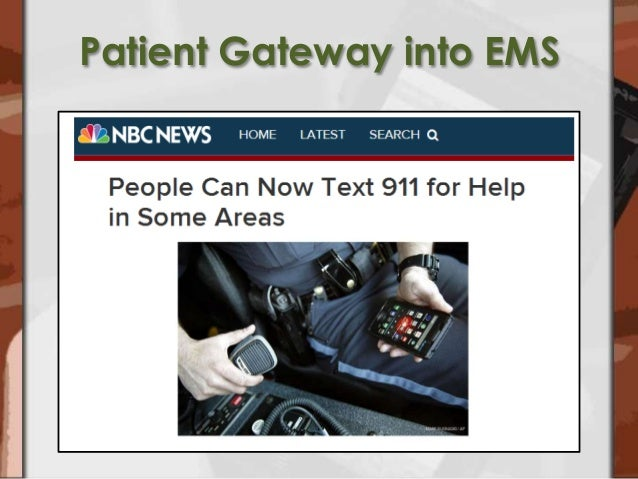 the integration of legislation into ems Fortunately, the state ems agency uses its authority to  legislation that supports  innovation and integration, and.