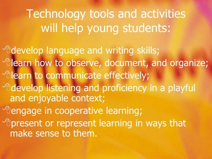 Incorporating technology into the classroom essay