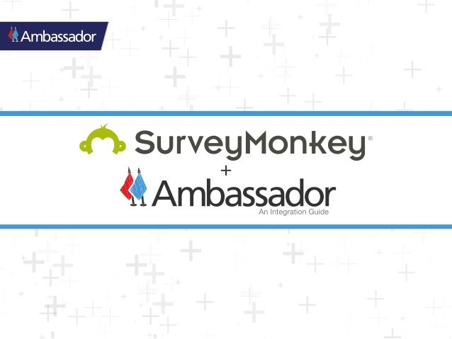 Ambassador integrates directly with SurveyMonkey's Net Promoter Score® survey, and will create an Ambassador account for a...