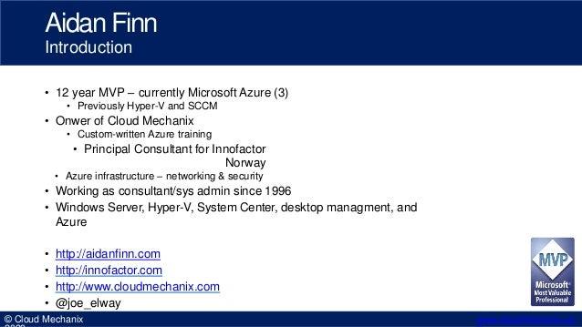 Securely Publishing Azure Services Slide 2