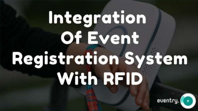 Integration of Event Registration System With RFID