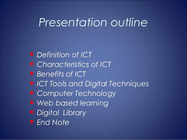 the impact of integrating ict in education The actual implementation of ict in teaching and course management 3  the  impact of integrating ict into teaching and other aspects of ccs work is.