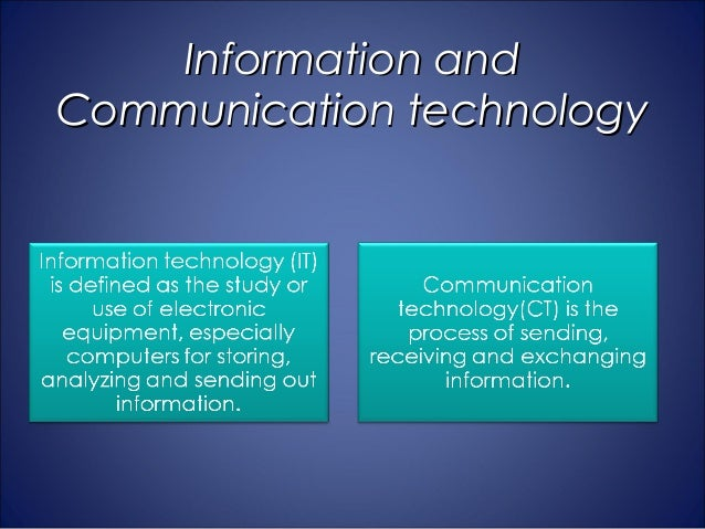 integration of ict in teaching and learning pdf