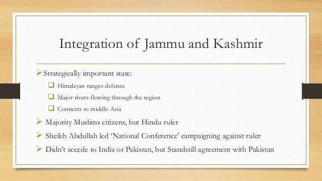 Integration Of Junagadh And Kashmir