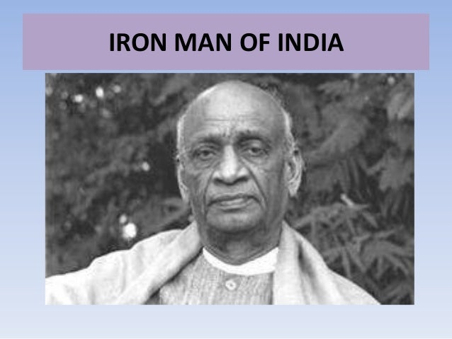 Sardar Vallabhbhai Patel Short Speech, Essay, Article & Paragraph