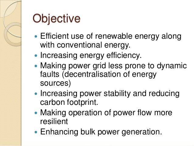 Integration Of Renewable Energy Sources